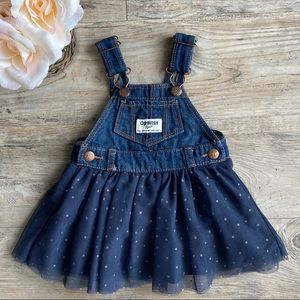 GAP Denim Dress Overalls | Flare Bottom (3 mo)